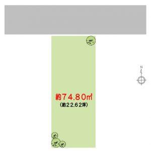 北田辺1丁目【1区画】
