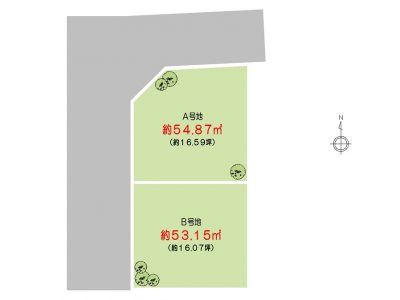 背戸口4丁目【1区画】