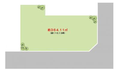 勝山2丁目【1区画】